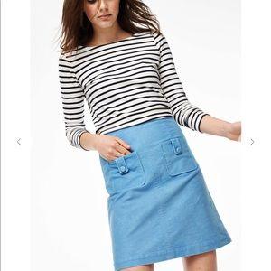 Boden Cambridge Skirt Sky Blue sz 8